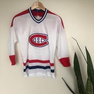 Vintage 1983 Montreal Canadiens Kids Jersey